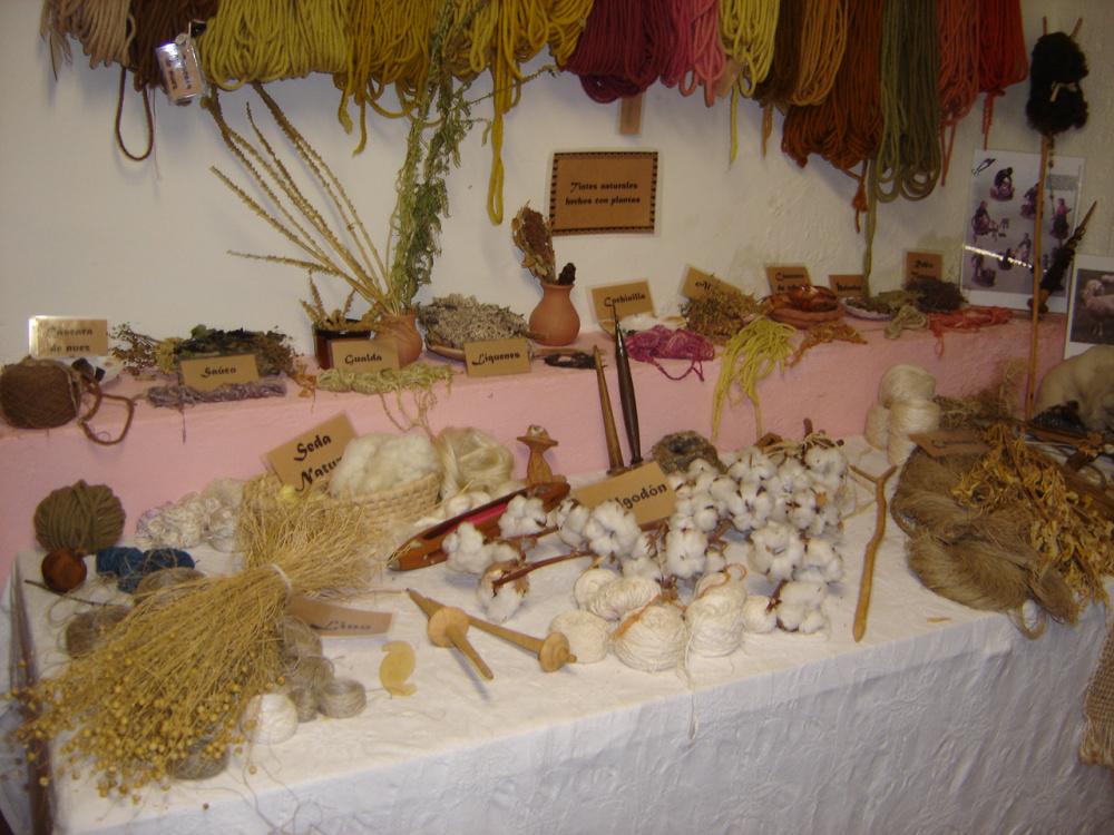 Plantas fibras naturales